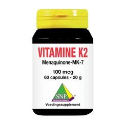 Vitamin K2 mena Q7 100 mcg