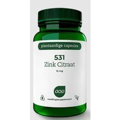531 Zinkcitrat 15 mg