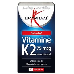 Vitamin K2 75 mcg