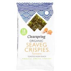 Seaveg Crispies Kurkuma Bio