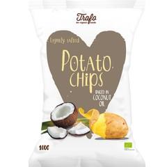 Chips Kokosöl frittiert bio