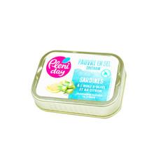 Sardinen in Olivenöl Zitrone wenig Salz