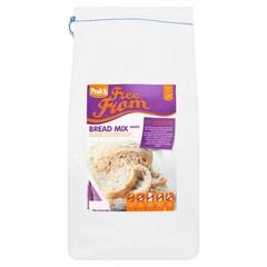 Brotmischung weiß glutenfrei