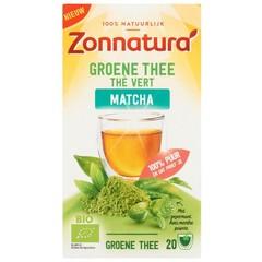 Grüner Tee Matcha Pfefferminze bio