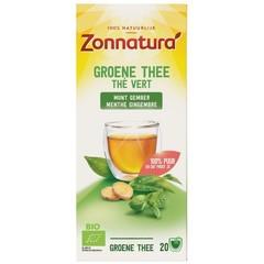 Grüner Tee Minze Ingwer bio