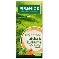 Grüner Tee Matcha Kurkuma Bio