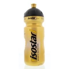 Wasserflasche gold Fahrradverschluss