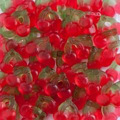 Gummikirschen zuckerfrei