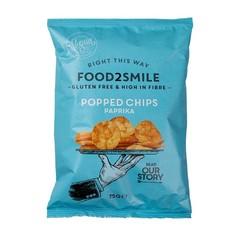 Gepoppte Chips Paprika glutenfrei laktosefrei