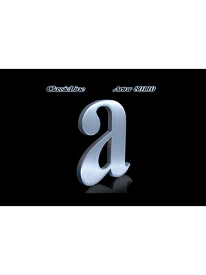 Mailbox design Stainless Steel House Number - Classic, letter a