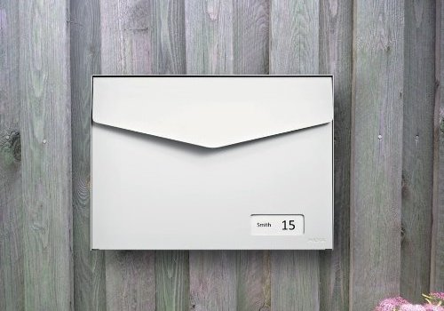 Wall mounted letterboxes