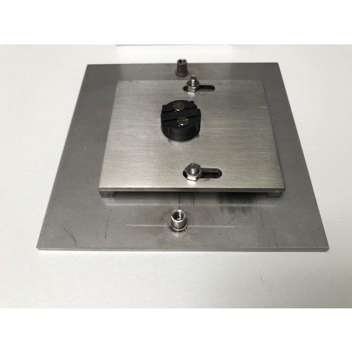 Mailbox design Sonnette carrée - Type 9001- 120 x 120 mm