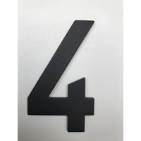 Aluminium House Number - Model C32 -  number 4