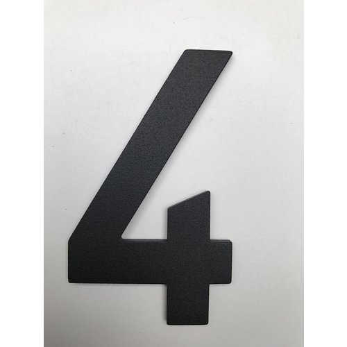 Albo Numéro de maison en aluminium - Modèle C32 - numéro 4