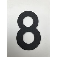 Aluminium House Number - Model C32 -  number 8