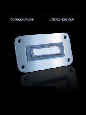 Mailbox design Sonnette Rectangle - Illuminé - Type 601