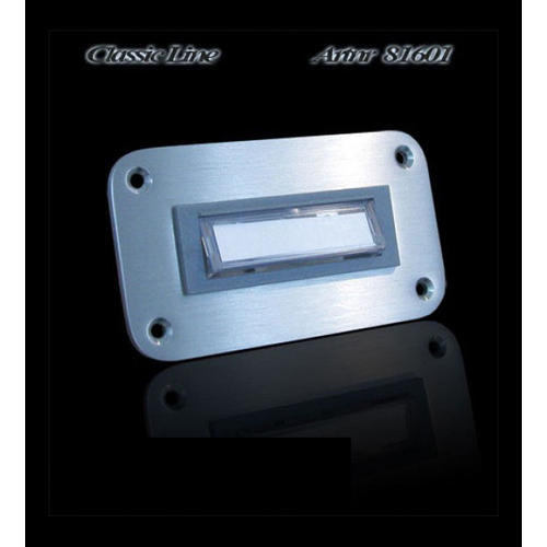 Mailbox design Doorbell Rectangle -  Illuminated - Type 601 - 90 x 50 mm