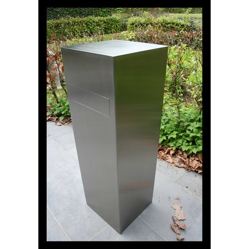 Mailbox design Design Inox Brievenbus Column