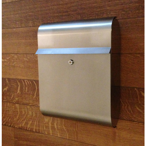 Galaxy Mailboxes Stainless Steel Letterbox - Galaxy - Antares