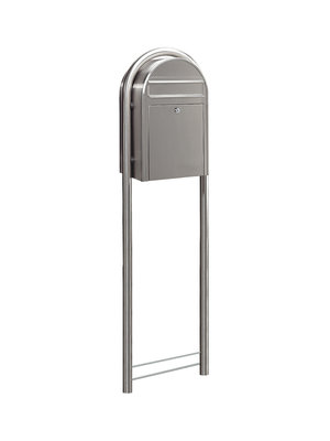 Bobi Brievenbus - Bobi - Classic - Stainless steel post mounted