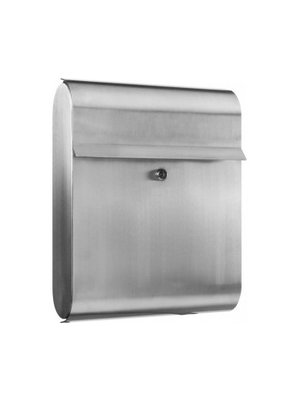 Galaxy Mailboxes Letterbox in stainless steel - Antares