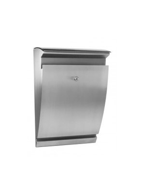 Galaxy Mailboxes Stainless steel Letterbox - Arcturus