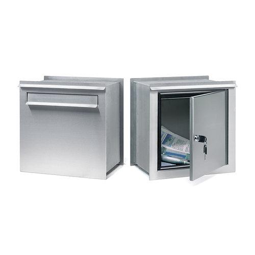 Bobi Inbouw brievenbus - Bobi - X400 - Inox/RVS
