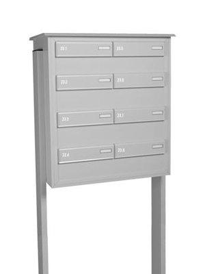 Mailbox design Letterbox ensemble for 8 flats