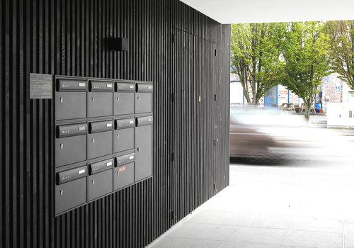 Ensemble de boîtes aux lettres