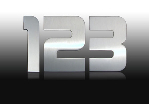 Design house numbers