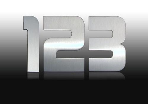 Design numéro de maison