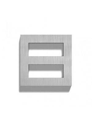 Mailbox design Stainless Steel House Number - Square, number 8