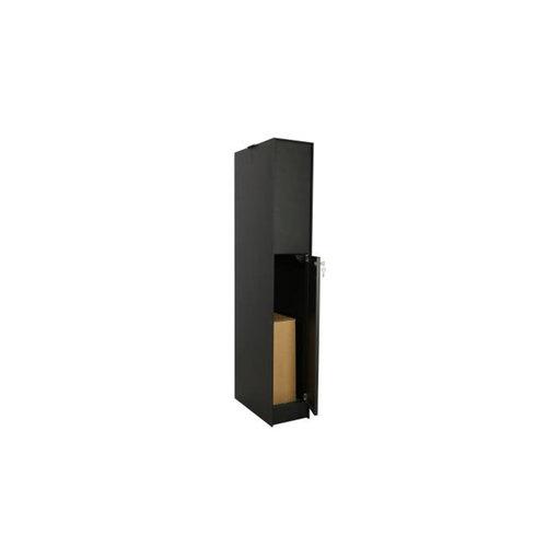 eSafe Parcel box Fenix - eSafe Top Medium - Black RAL 9005