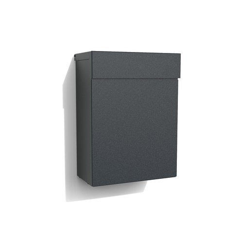 Albo Letterbox TOPA 530 in aluminium - RAL Color of your choice