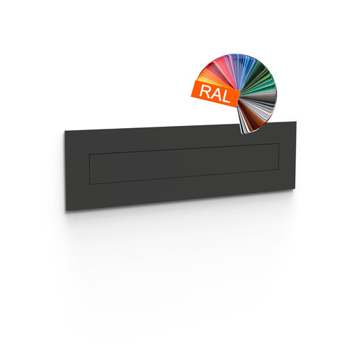 Albo Design Flat Letterbox Flap - Albo Integra 400 - RAL Color of your choice