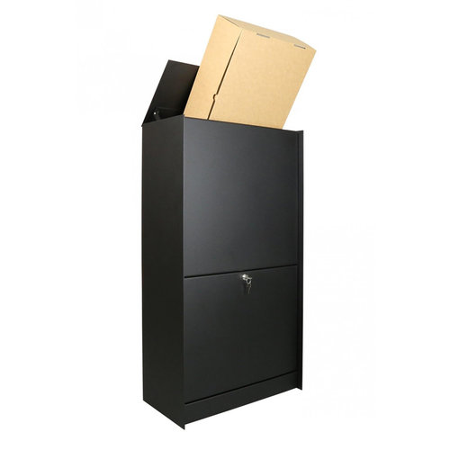 eSafe Parcel box - eSafe Dropbox Medium  - Black-White