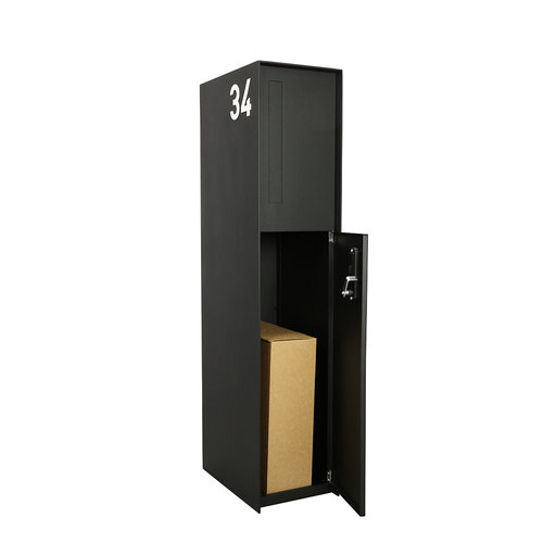 eSafe Design Fenix eSafe Front - parcel box - RAL Color of your choice