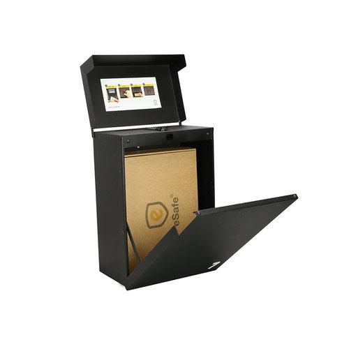 eSafe Boîte à colis eSafe Shopperbox - Serrure digitale à combinaison - Noir