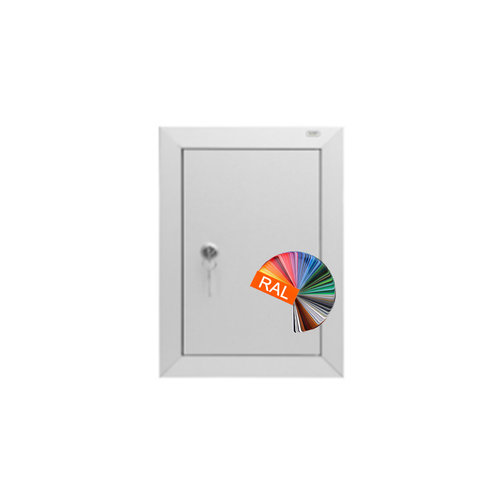 Albo Aluminium Letterbox Door - 529/1 - RAL Color of your choice