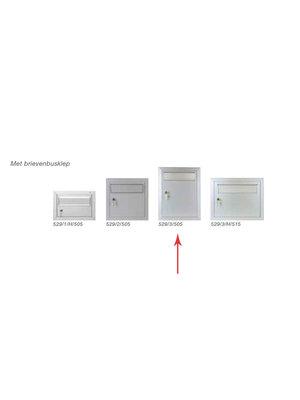 Albo Portillon en aluminium - 529/3/505