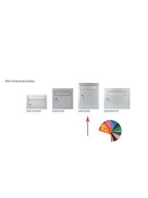 Albo Aluminium brievenbusdeur - 529/3/505