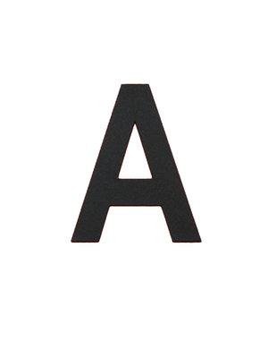Albo Aluminium huisnummer - Model L32 - Letter A