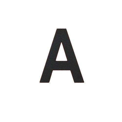 Albo Numéro de maison en aluminium - Modèle L32 - Lettre A