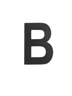 Albo Numéro de maison en aluminium - Modèle L32 - Lettre B