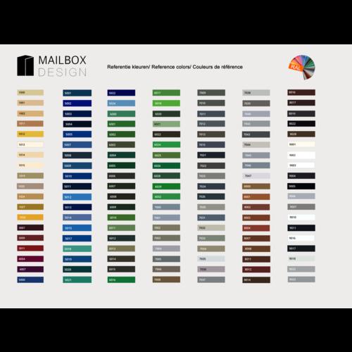 Albo Portillon en aluminium - 529/3/H/515 - Couleur RAL de votre choix