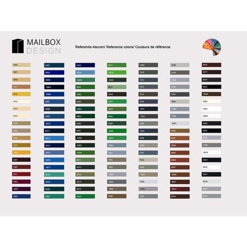 Mailbox design Inline Boîte aux lettres ingéniosité