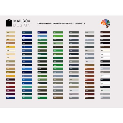Mailbox design Moderne Brievenbus Trend 1100