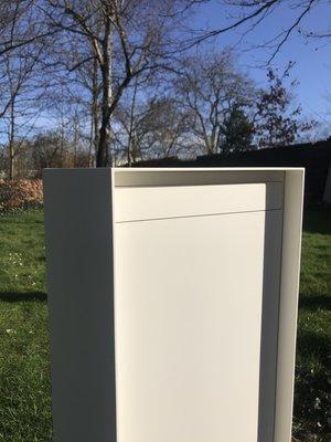 Mailbox design Aluminium brievenbus Inline