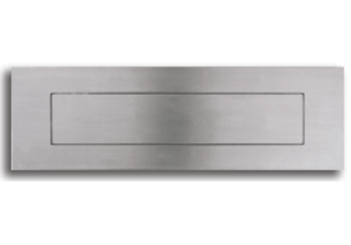 Stainless steel mailbox flap