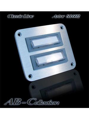 Mailbox design Sonnette Rectangle - Illuminé - Type 602